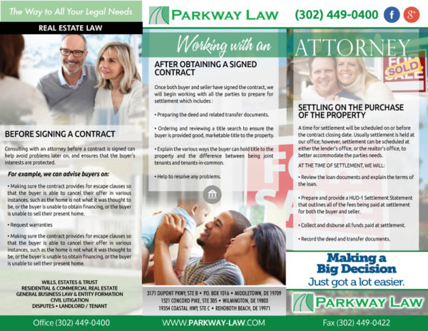 Parkway Law Real Estate Brochures